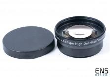 Digital Optic 2.5x super high quality Telephoto AF Lens 58mm