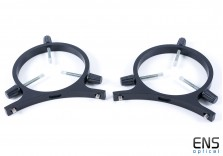 """Mounting Rings for 2-4"""" Guide Telescope - Fits LX200 12"""""""