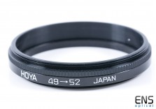 Hoya 49mm to 52mm Filter Adapter - JAPAN