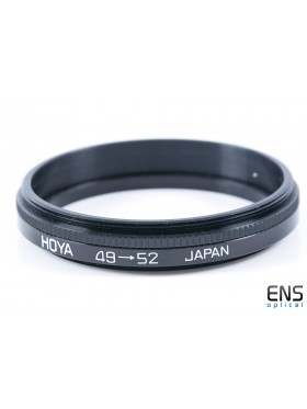 Hoya 49mm to 52mm Filter Adapter - JAPAN