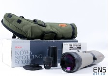 Kowa TSN-821 82mm Angled Spotting Scope & 21X Wide Angle Eyepiece