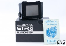 Bronica ETR 120 Roll Film Holder Back RFH fits ETRS ETRSi  - Super Clean