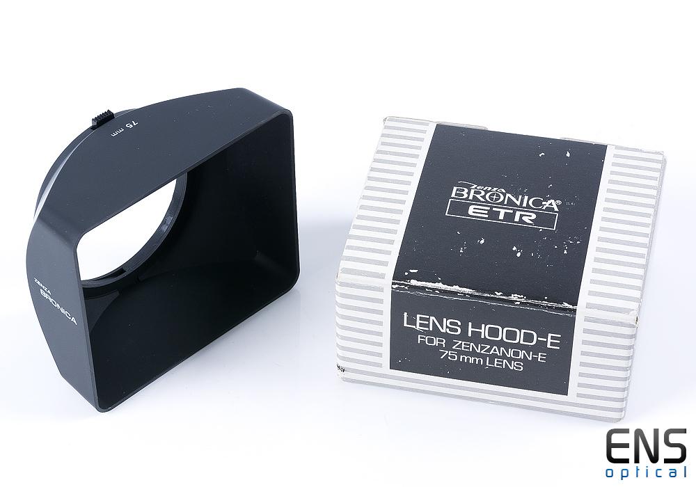 Zenza Bronica 75MM Hood - Boxed Superb