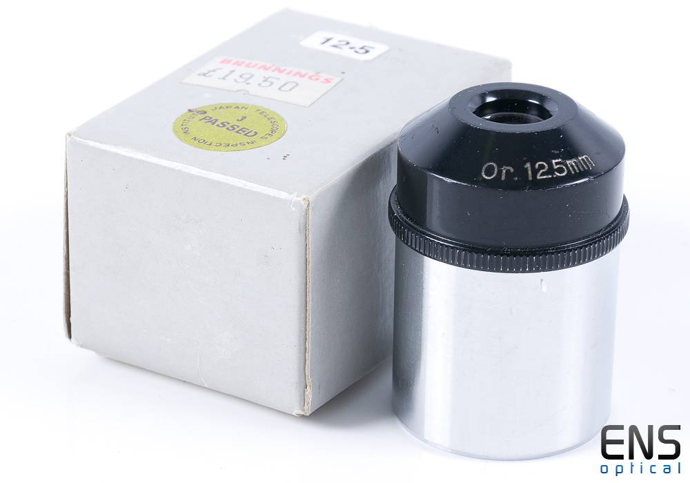 """Circle-T 12.5mm Orthoscopic Eyepiece 1.25"""" - Boxed"""