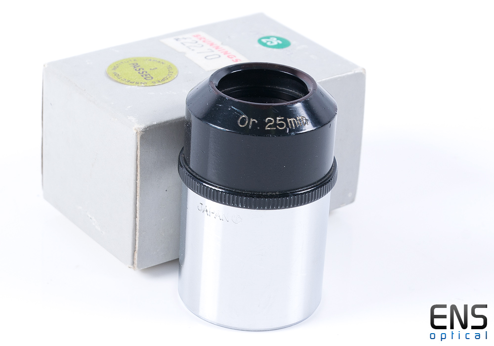 """Circle-T 25mm Orthoscopic Eyepiece 1.25"""" - Boxed"""