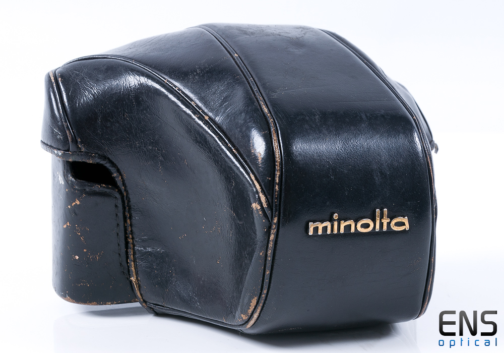 Genuine Minolta Leather Pouch for SLR Camera - JAPAN