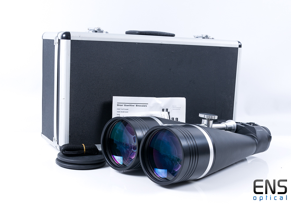 Orion GiantView 25x100 Binoculars with Bak-4 Prisms 2.5º Fov - Mint Boxed