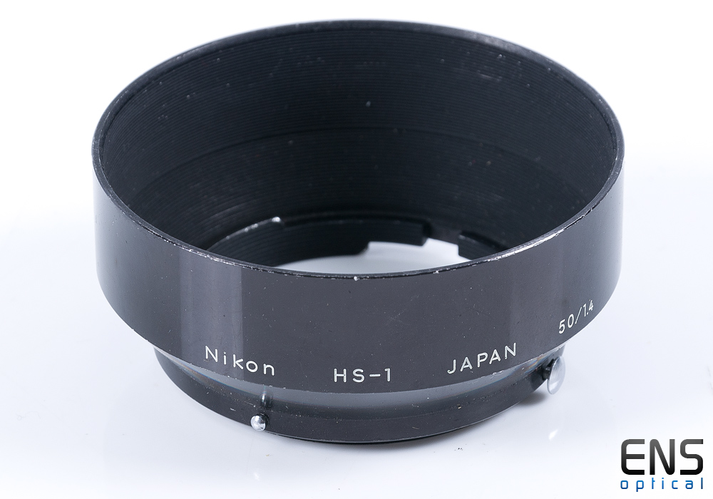 Genuine Nikon HS-1 Metal Lens Hood for 50mm f/1.4 Lens - JAPAN