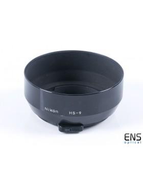 Genuine Nikon HS-9 Metal Lens Hood