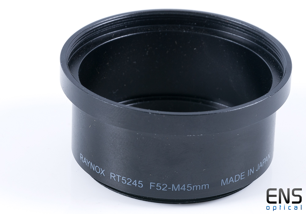 Raynox RT5245 Lens Adapter for Sony DSC S85 S70 Digital Camera F52 to M45mm