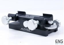 ADM Mini Max Guider Guidscope Saddle - Fits Vixen V Style Dovetails
