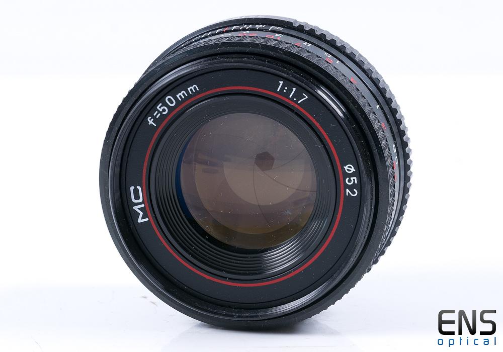 Phenix 50mm f/1.7 MC Prime Lens - Pentax K - 0068759 * FUNGUS*