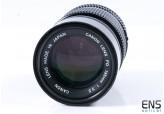 Canon 135mm f/3.5 FD Tele Prime Lens - 242724 JAPAN *SPARES*