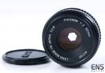 Ricoh 50mm f/2 Rikenon Prime Pancake Lens - Pentax PK Fit - 305643 JAPAN
