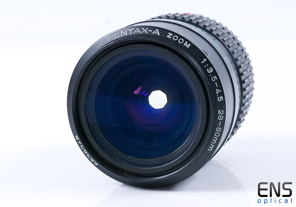 Pentax-A 28-80mm f/3.5-4.5 Macro Zoom Lens - PK Fit 6838248