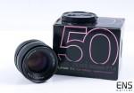 Carl Zeiss 50mm f/1.4 Planar T Contax Lens 6429229 JAPAN