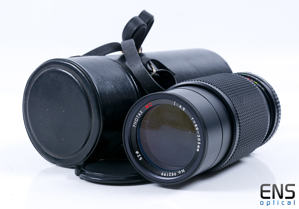Photax 80-205mm f/4.5 MC Macro Zoom Lens - 982199 JAPAN