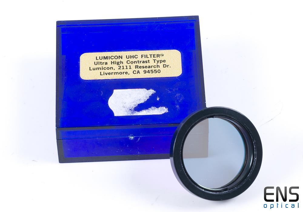 "Vintage Lumicon 1.25"" UHC Light Pollution Filter - Nice!"