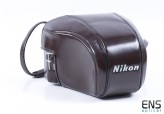 Vintage Nikon Leather SLR Camera Case - JAPAN