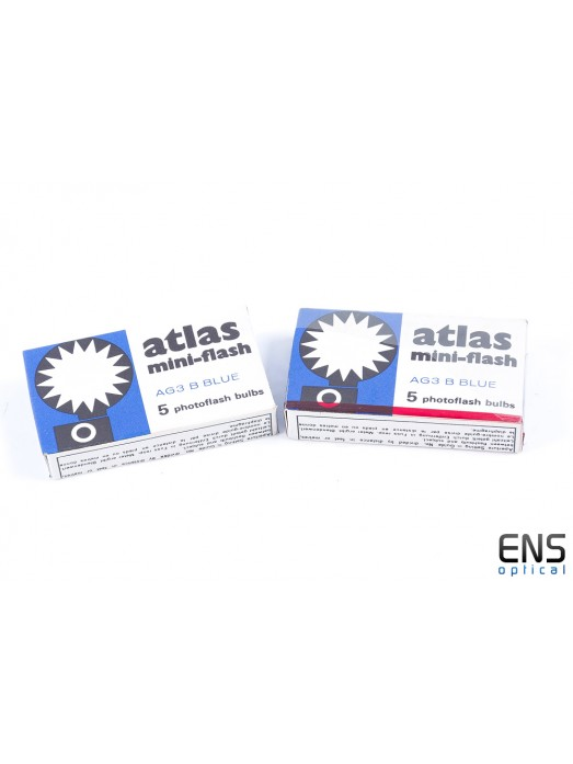Atlas Mini Flash with 10x AG3 Blue Bulbs
