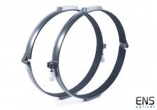 """TS-Optic 14"""" Aluminium Telescope Tube Rings"""