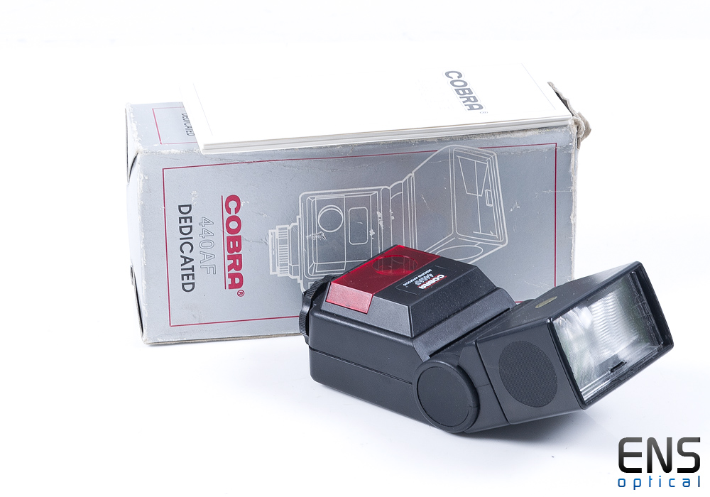 Cobra 440AF Dedicated Flash - Boxed