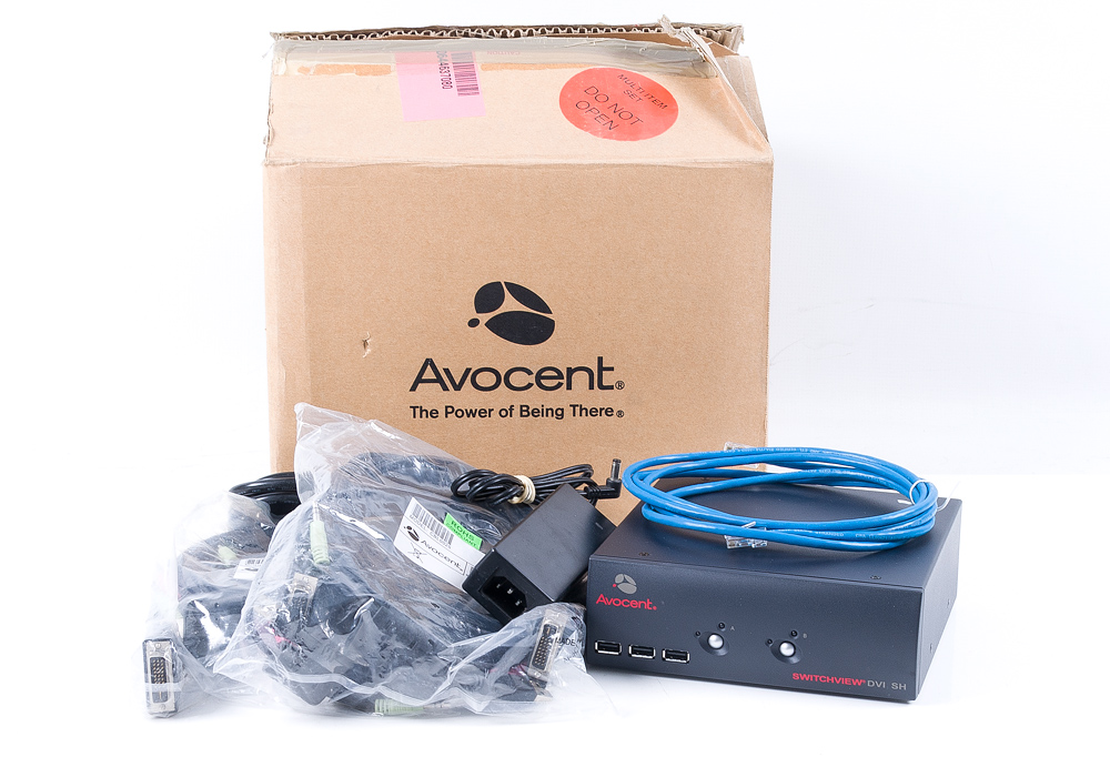 Avocent Switchview DVI SH Dual Port KVM Switch