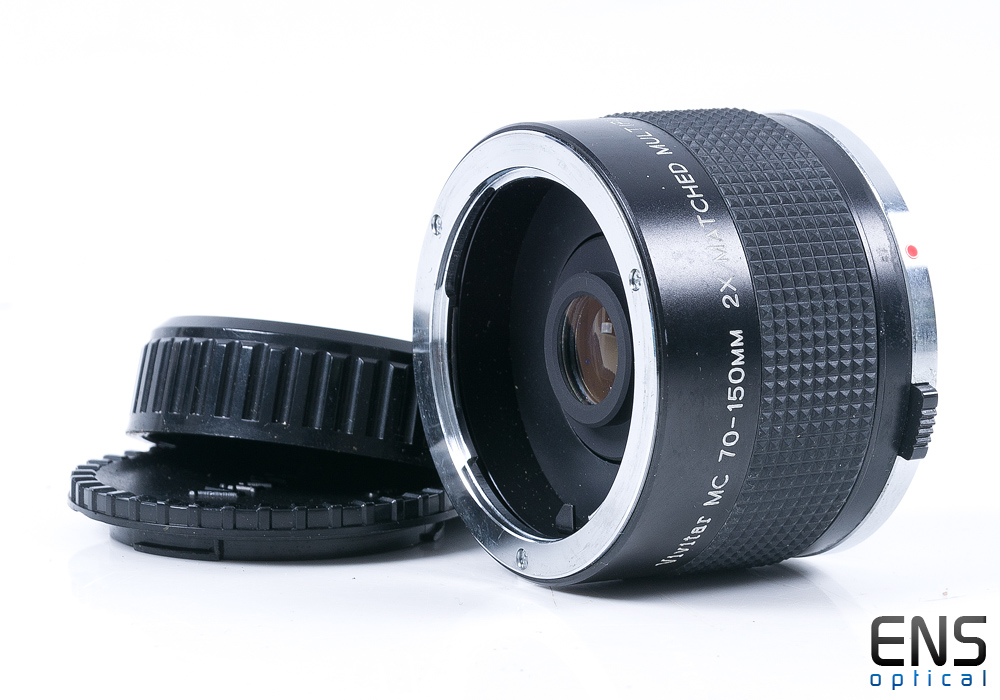 Vivitar 70-150mm 2x Matched Multiplier Converter Lens - OM Fit