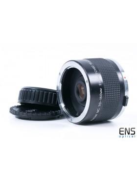 Vivitar 70-150mm 2x Matched Multiplier Converter Lens - OM Fit