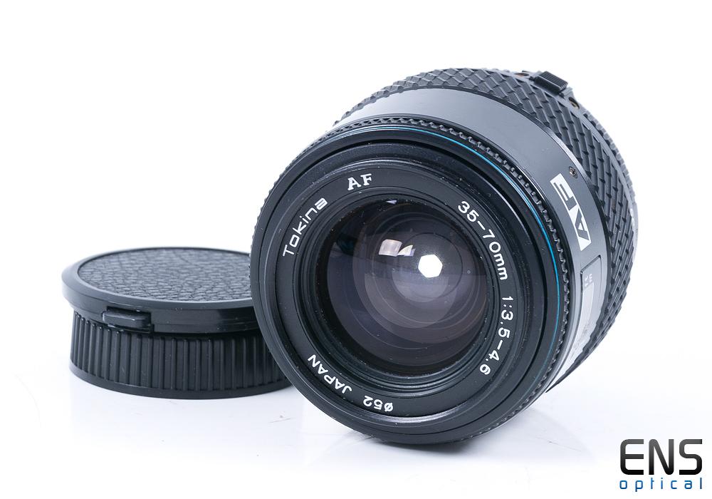 Tokina AF 35-70mm f/3.5-4.6 Standard Zoom Lens Ai-S Fit - 8801827
