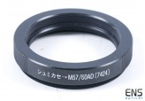 Borg #7424 SCT to M57/60 Adapter