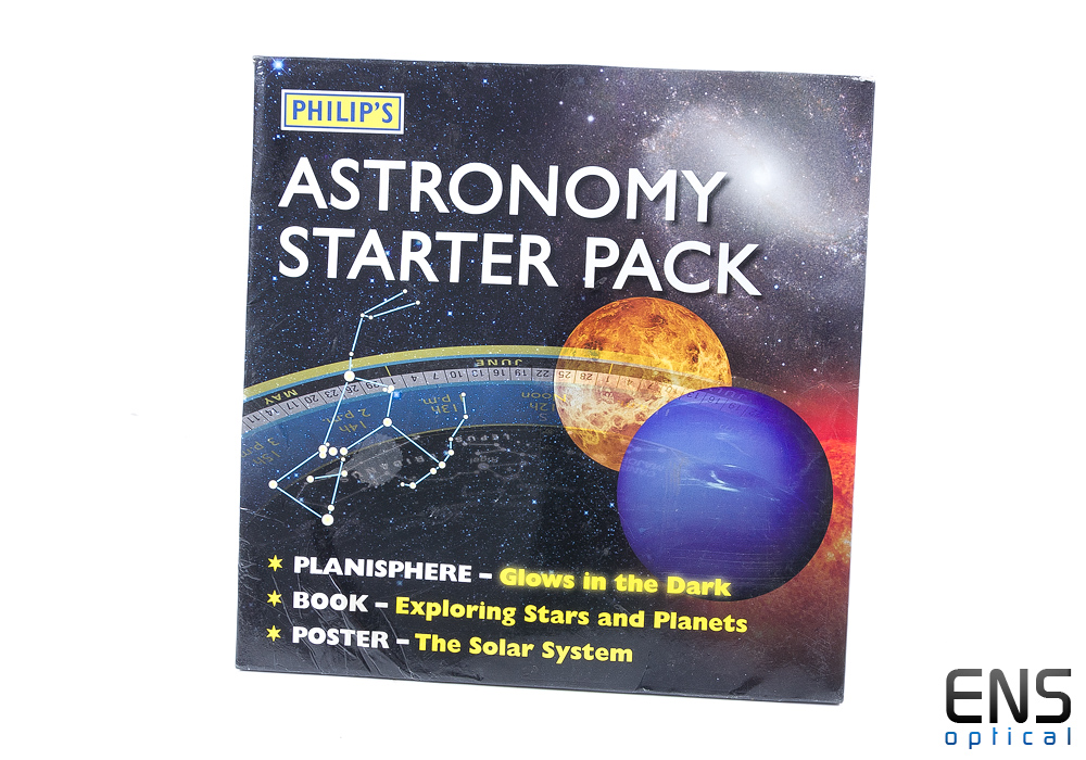 Philips Astronomy Starter Pack - Planisphere, Book and Poster