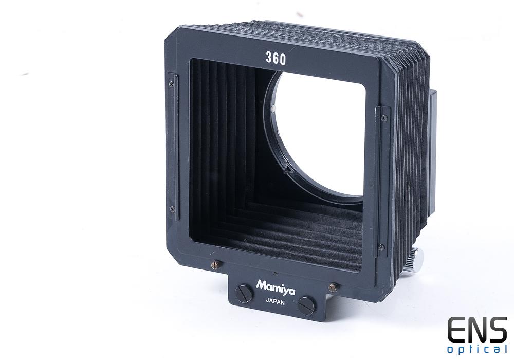 Mamiya 360 Focusing Bellows Lens Hood - Nice!