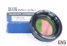 Meade 911B Broadband Nebula & Light Pollution Filter SCT Fit Lx200 Lx90
