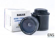 Sakar 52mm Semi Fisheye Conversion Lens *FUNGUS*