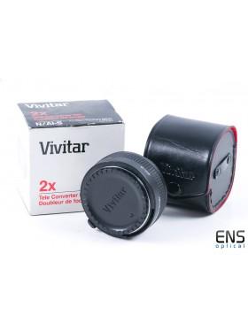 Vivitar 2x Teleconverter for Nikon AI-S - Boxed *READ*