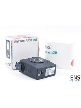 Sunpak Auto 20 Hotshoe Flash - Boxed