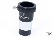 "Skywatcher 2x Barlow Lens 1.25"" with T2 Thread for Camera"