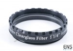 """Baader Clearglass Filter for Focusing or Dust Protection - 1.25"""""""