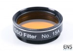 "GSO no. 15A Telescope Filter - 1.25"""