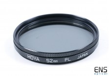 Hoya 52mm PL Polarising Filter