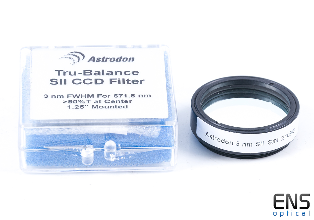 "Astrodon SII 1.25"" 3NM Narrowband Imaging Filters"