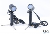 Portable Tiltable Spot Lights ideal for small item photography