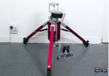 Portable Pier 12v Adjustable Height with lockable wheels