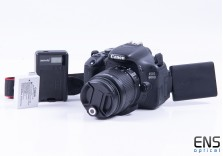 Canon 600D 18MP Digital DSLR Kit w/18-55mm Lens