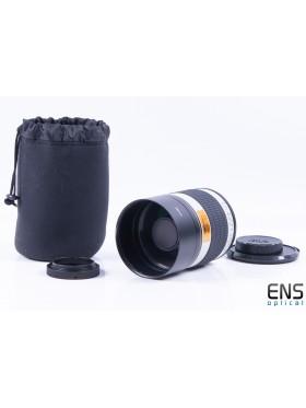 Walimex 500mm F6.3 Mirror Lens T2 Fit - Mint