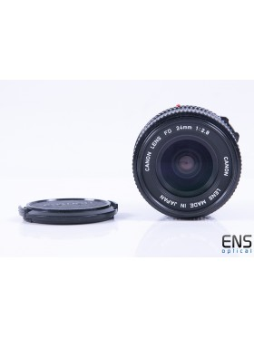 Canon 24mm f/2.8 Prime Wide Angle Lens - FD Fit - JAPAN 162128