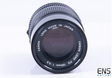 Canon 135mm f/3.5 Prime Lens - FD Fit - JAPAN 248511