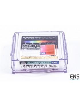 Baader 50mm Square HA 7nm Narrowband Imaging Filter  - New Sealed