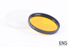 Generic 52mm Yellow Camera Lens Filter